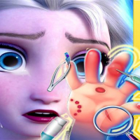 Elsa Hand Doctor - Fun Games for Girls Online
