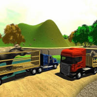 Offroad Animal Truck Transport Simulator 2020